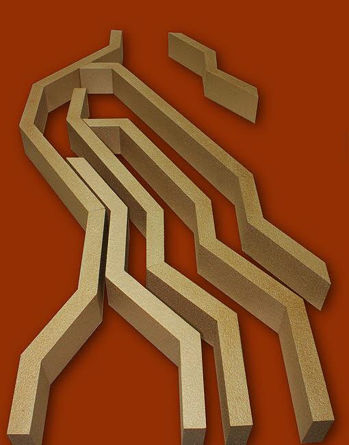 3d styropor formen, bauteile, zuschnitt,