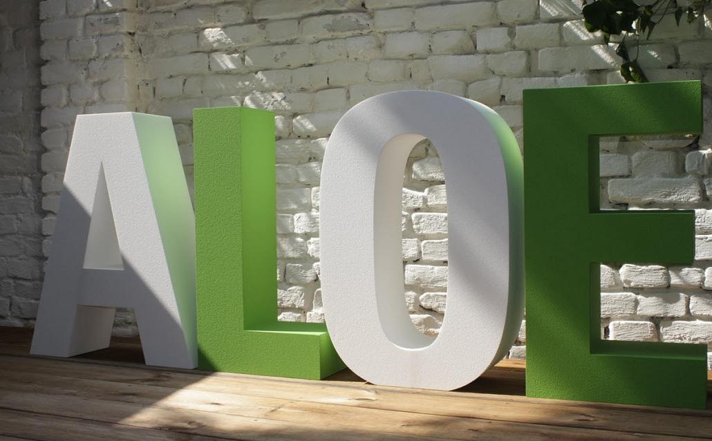 styroporbuchstaben, 3d buchstaben