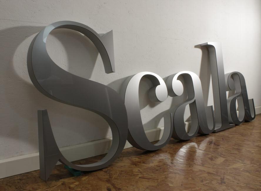 3d buchstaben hartschaum mit acrylglas
