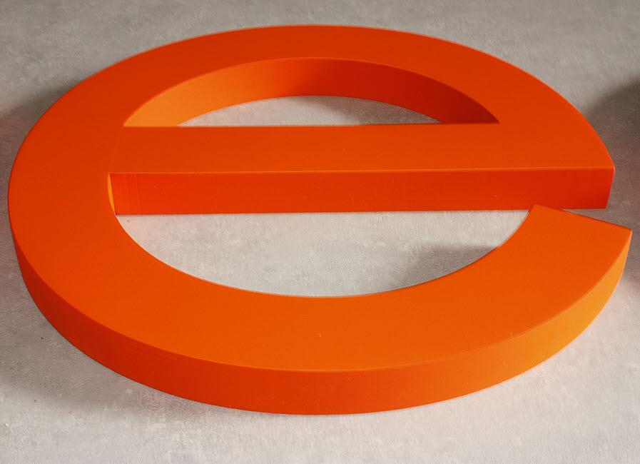 3d logo, 3d buchstaben, styrodur, xps-hartschaum