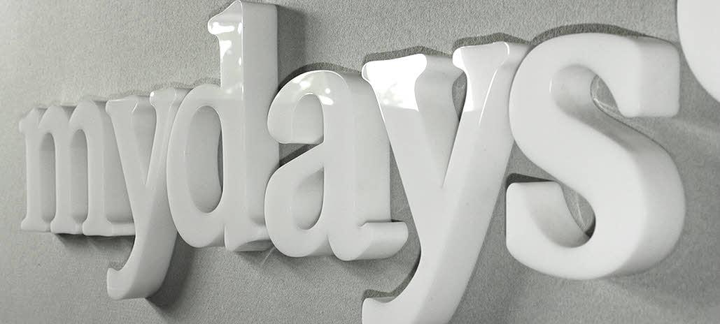 Acrylglas Buchstaben, 3D Logo aus Plexiglas, hier in 30 mm Stärke, Laserschnitt, Acrylglasbuchstaben, Plexiglas Buchstaben, 3D Buchstaben, 3D Logo