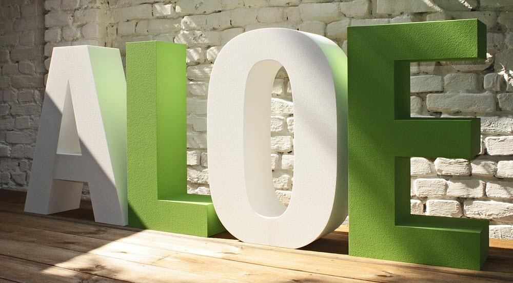 3D Buchstaben aus Styropor, EPS Hartschaum
