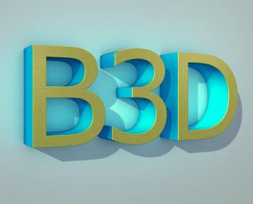 B3D,3D-Beschriftung,3D-Buchstaben,3D-Logo,Werbetechnik,Beschriftung,Buchstaben