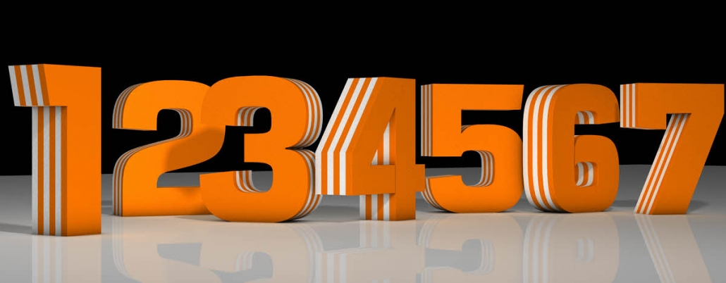 3D Buchstaben, Styrodurbuchstaben, 3D Zahlen,VKF, POS