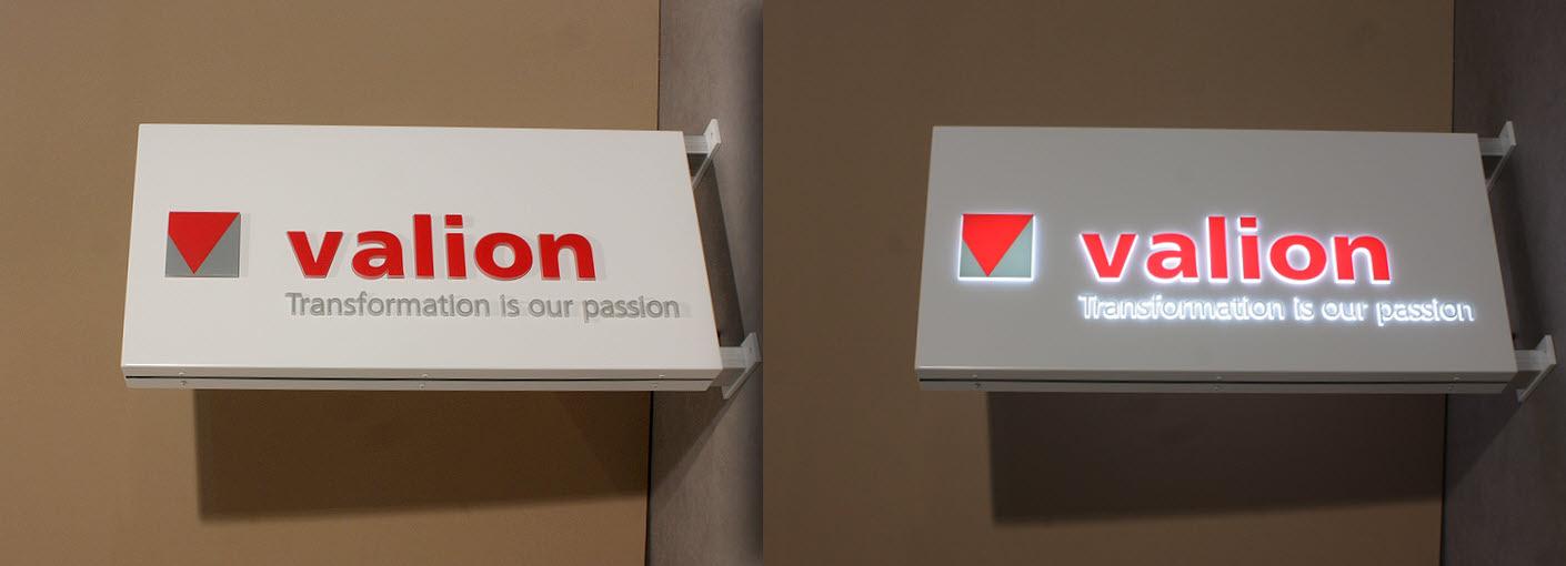 LED Leuchtkasten mit 3D Durchsteckbuchstaben