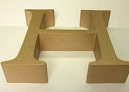 EPS-XPS Hartschaum Portfoliobild, Styropor Buchstaben, Styrodur Buchstaben, 3D Buchstabe