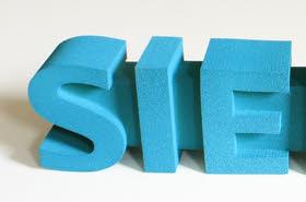 3D Beschriftungen für Innenbereiche,Weichschaum Buchstaben