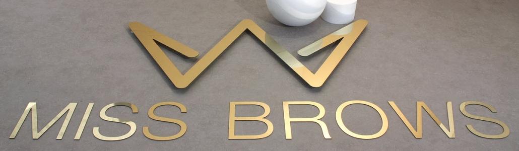 3D Logo, 3D Buchstaben aus Dibond Gold Spiegel