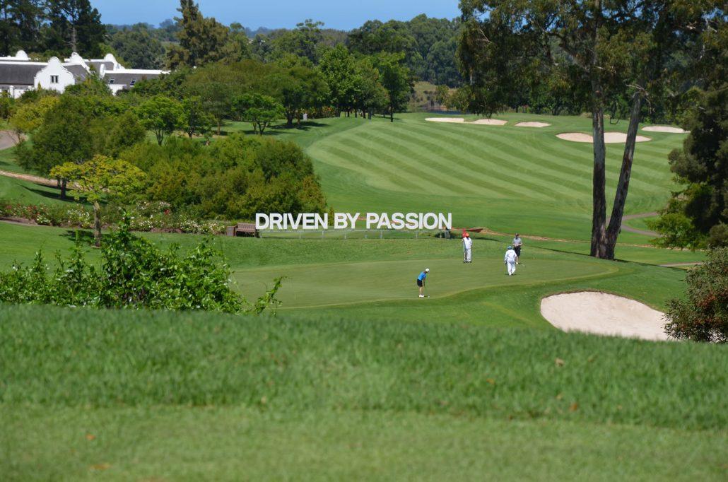 Profilbuchstaben 01 aus Alu, BMW Golfturnier