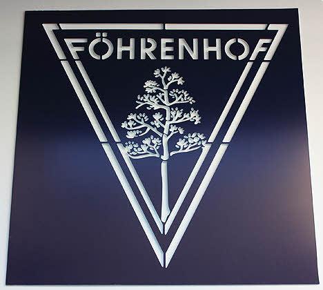 Schablone Föhrenhof, Stencil