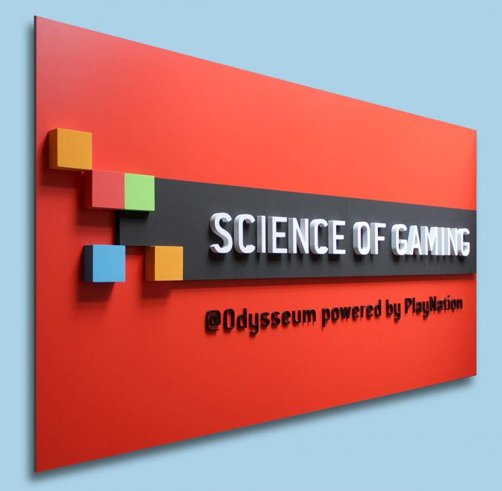 Firmenschilder mit 3D Beschriftung, Schild aus Dibond mit 3D Beschriftung