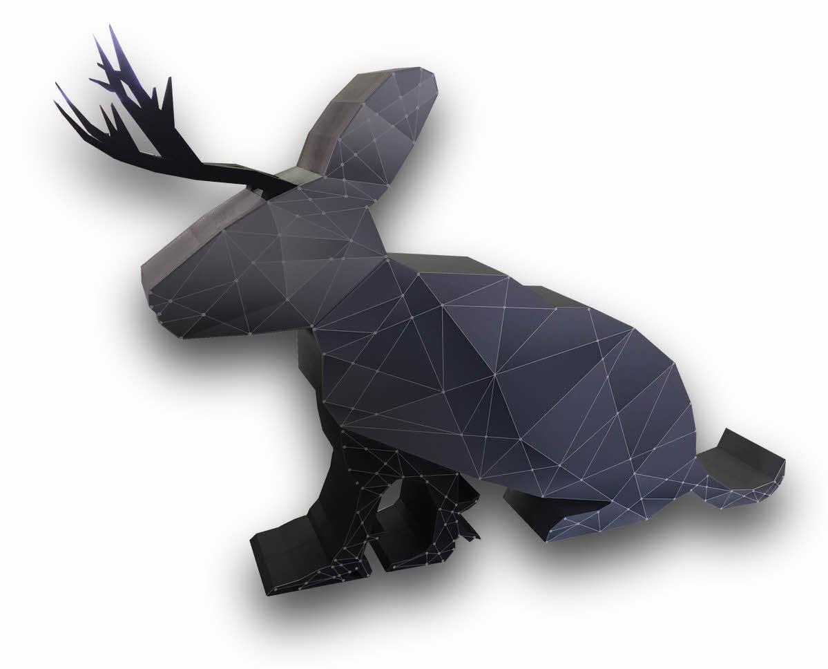 3D XL Figur aus EPS Hartschaum