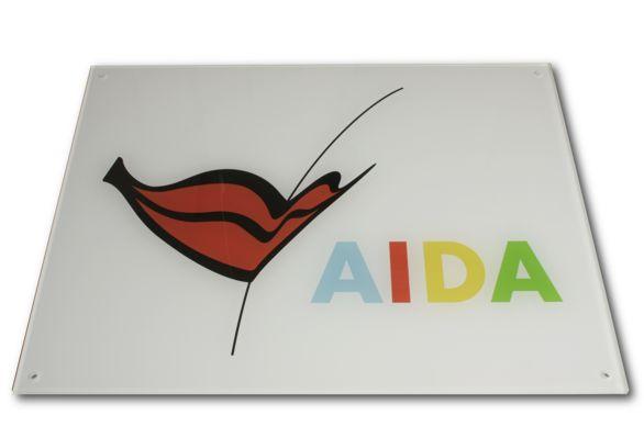 Werbe-und Firmenschilder, Plexiglas Schild