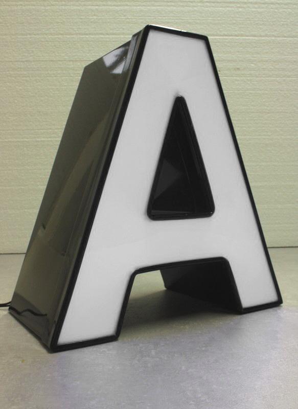 Profil 5 LED Buchstabe, Frontleuchter