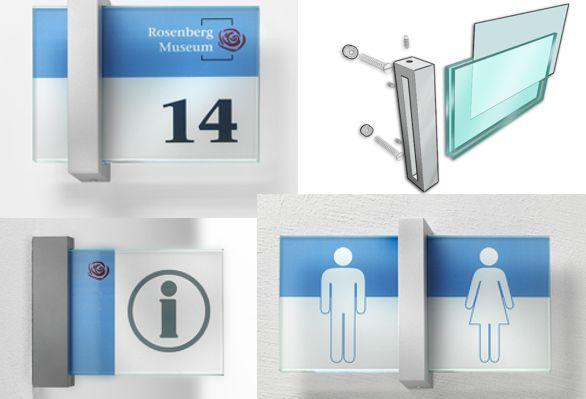 Leit- und Orientierungssystem Schild, Leitsystemschilder