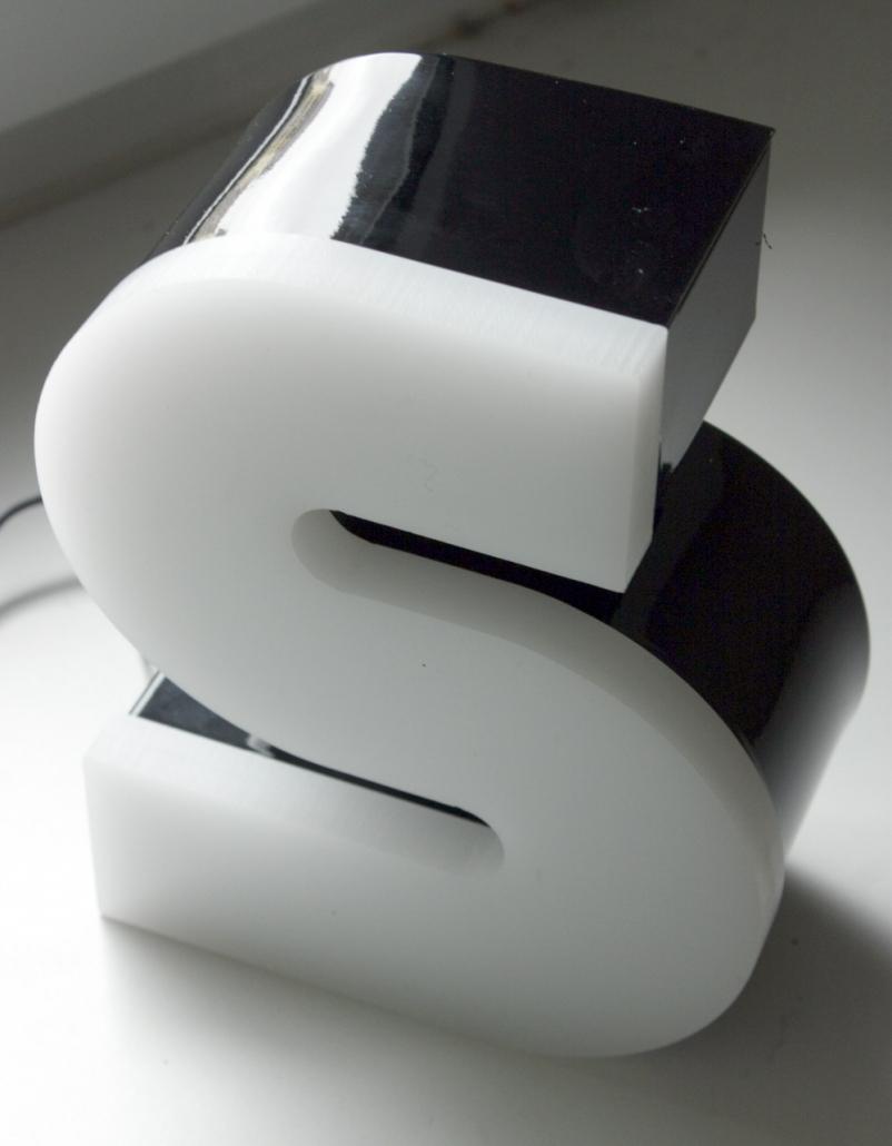 LED Profilbuchstabe Profil 5, 3D Beschriftungen für Außenbereiche